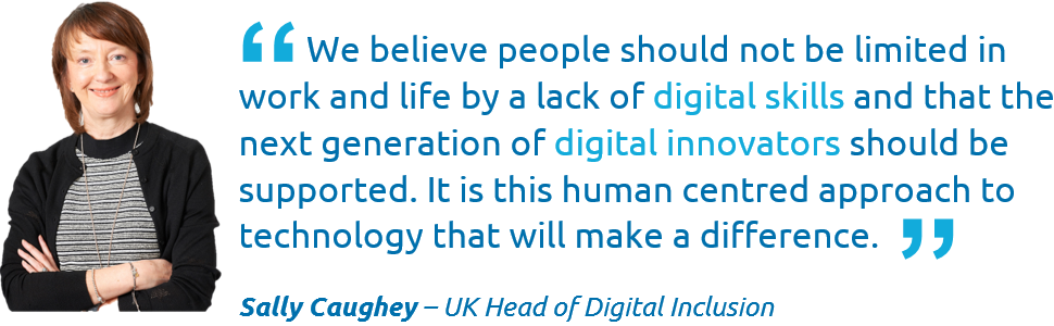 Sally Caughey reflects on Capgeminis Digital Academy