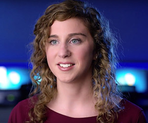 Lauren Northrop Grumman Cyber Software Engineer