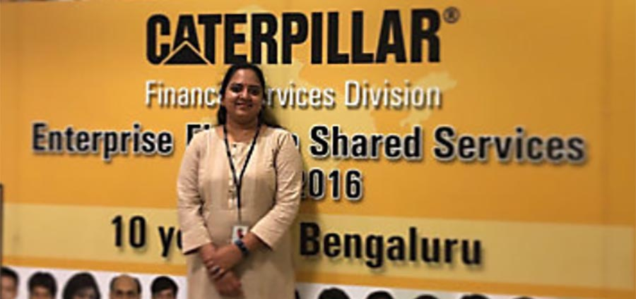 Women returners are supported at Caterpillar