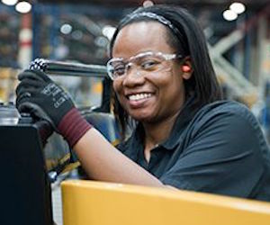 Caterpillar supports women career development