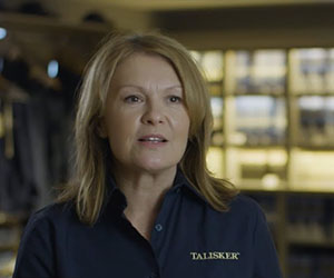 Diageo Manager Fiona is Talisker through and through