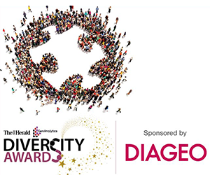 Diageo sponsored Scotlands Diversity Awards Diversity Hero