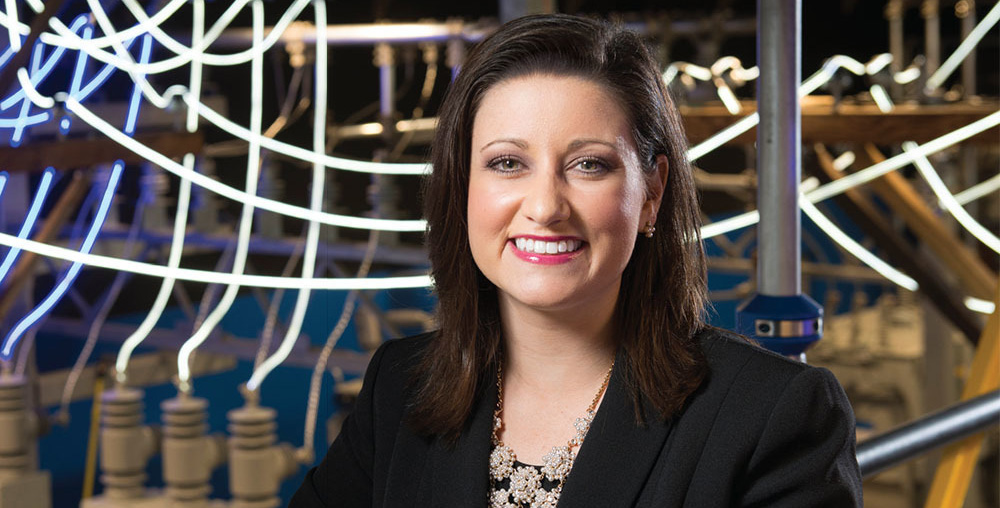 Eaton woman honoured as rising star in electrical industry