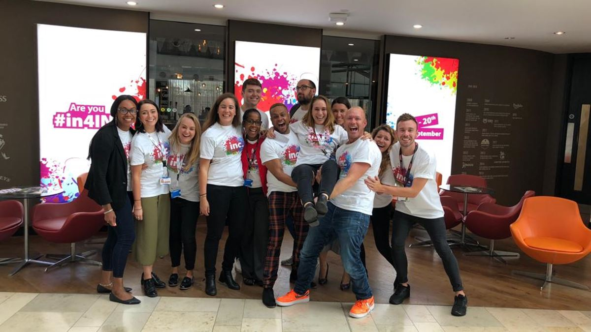 Diageo held week-long activity to celebrate inclusion