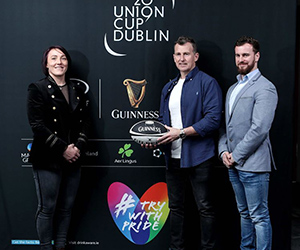 Diageo supports Europes biggest LGBT+ inclusive rugby tournament