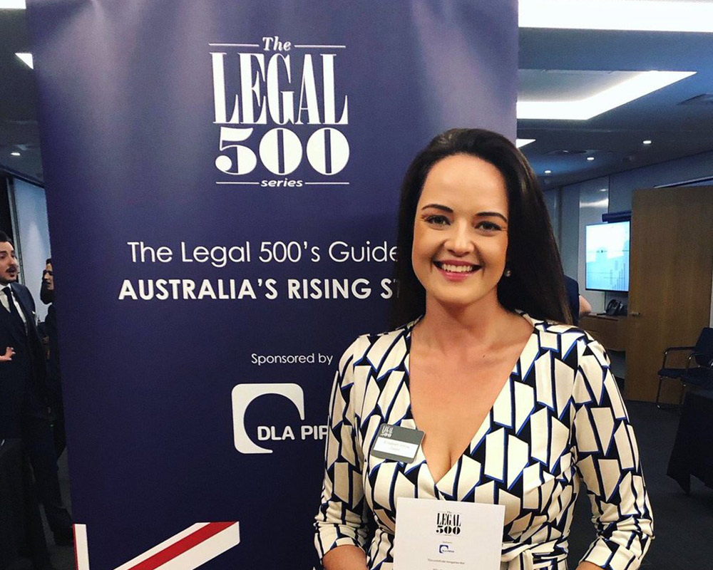 Diageo Legal Counsel named one of Australias Rising Stars