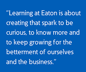 Eatons virtual interns participated in a six-part learning series