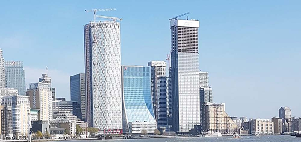 EBRD to move to eco-friendly headquarters on Canary Wharf