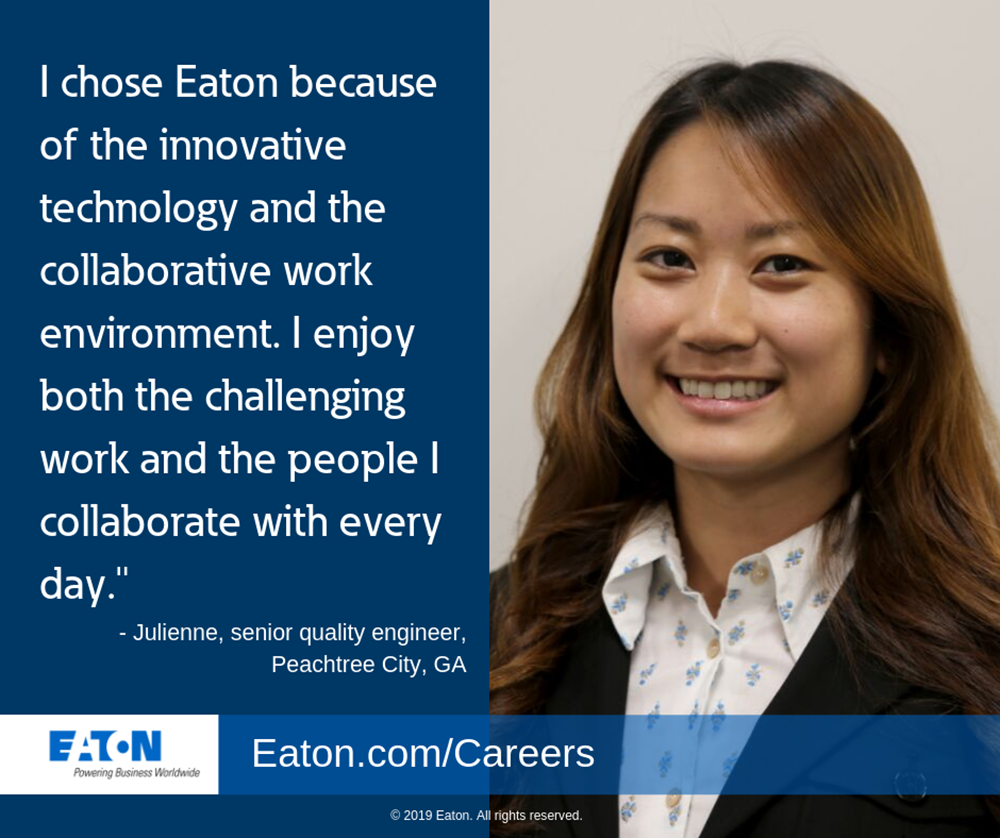 Women share why Eaton is the right company for them to work