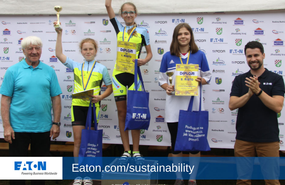 Eaton teams give back to their communities
