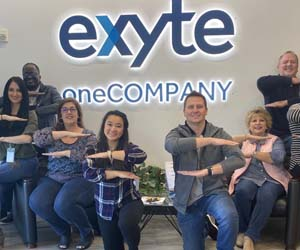 Exyte colleagues further their support for gender diversity