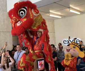 Exyte colleagues in Singapore celebrate Lunar New Year