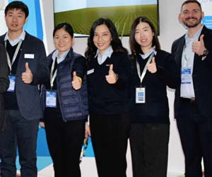 Exyte women showcase high-tech solutions at IC World, Beijing