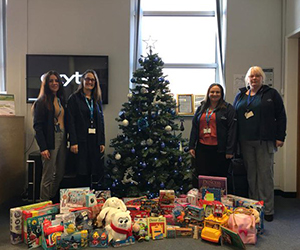 Exyte employees support KidsOut Giving Tree campaign