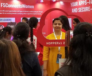 F5 Networks reaches women in tech at Hyderabad Hopperx1 event
