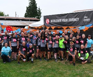 F5 Networks team players accelerate journey via fundraiser