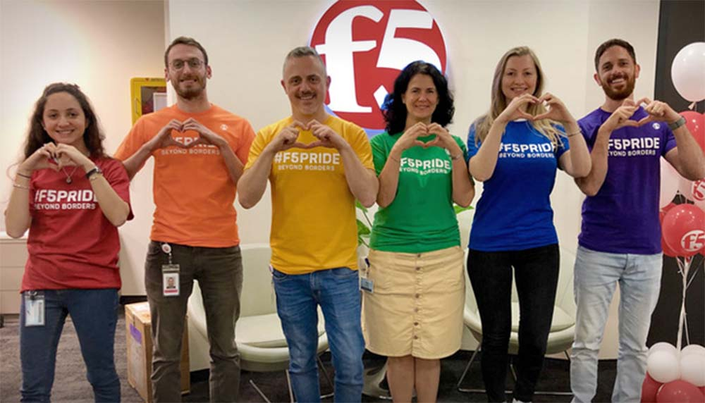 F5 Networks fosters a culture of inclusion for employees