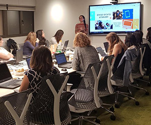 F5 Tel Aviv women support National Cyber Education Center
