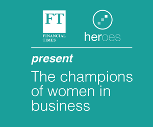 Schneider Electric FT Women in Business Award
