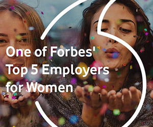 Vodafone named one of Forbes' Top Five Employers for Women