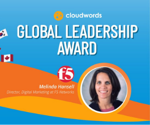 F5 Digital Marketing Director wins Global Leadership award