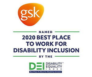 GSK is a Best Place to Work for disability inclusive work culture
