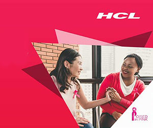 HCL shows solidarity for wellness via breast cancer awareness drive