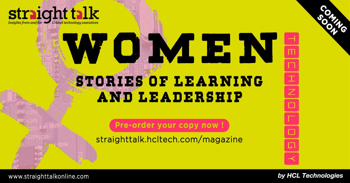 HCL talks straight in women's work magazine