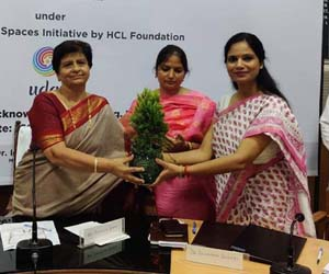HCL Foundation addressing mass afforestation, water conservation