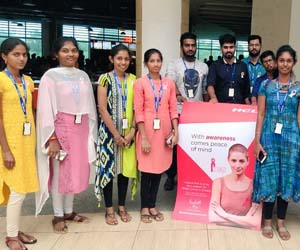 HCL colleagues join forces to help raise breast cancer awareness