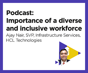 HCL Senior VP discusses workplace diversity in podcast