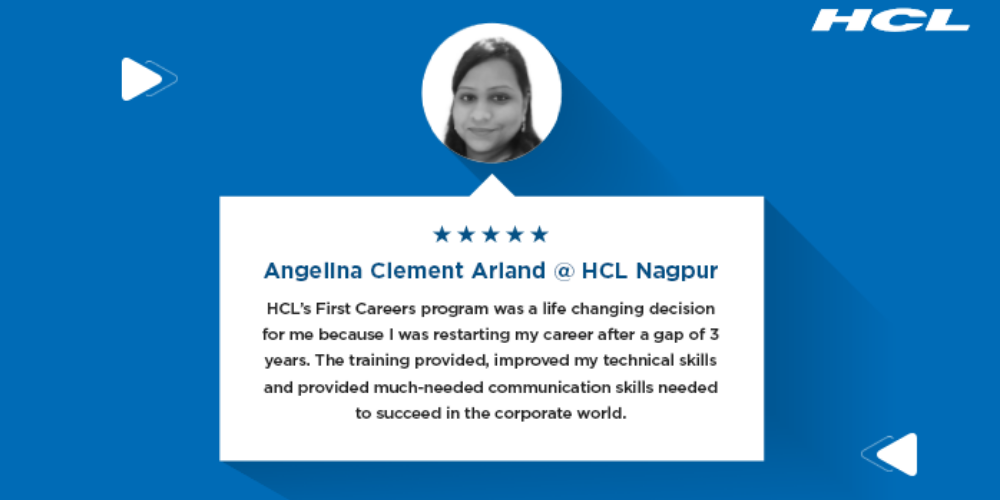 Six women share experience of HCL First Careers program