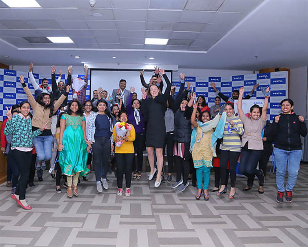 HCL offers exceptional career advancement for its women