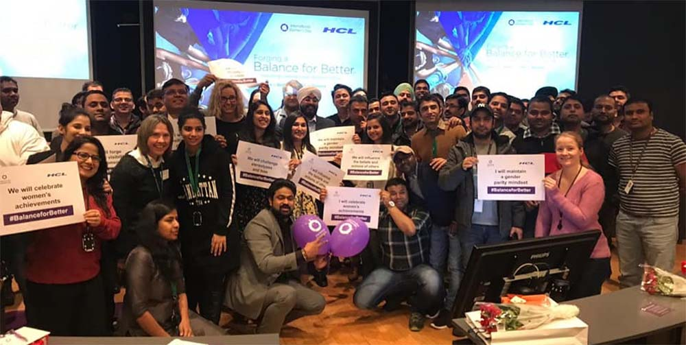HCL celebrated International Women's Day across the globe