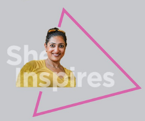 HCL captures of STEM trailblazer life stories via #SheInspires