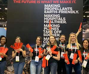 Honeywell attends largest gathering for women in tech