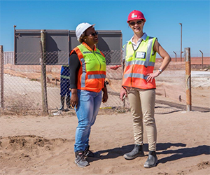 Women at AECOM go the extra mile