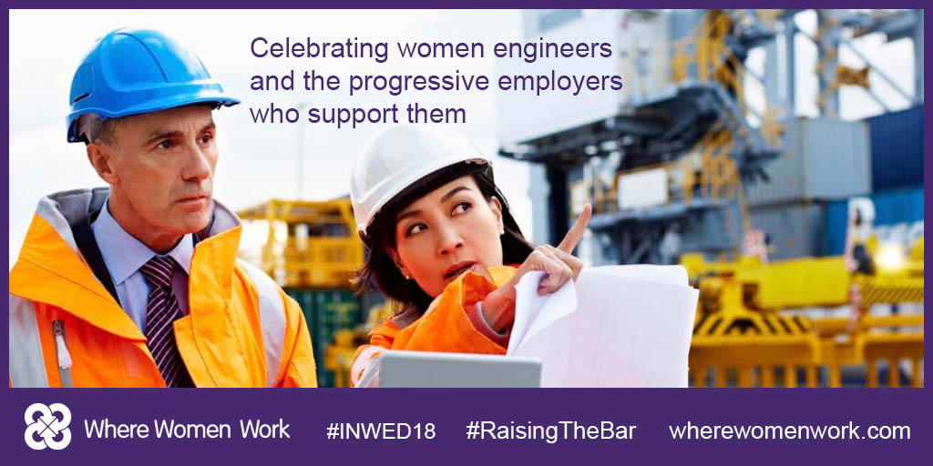 Help raise the bar for International Women in Engineering Day