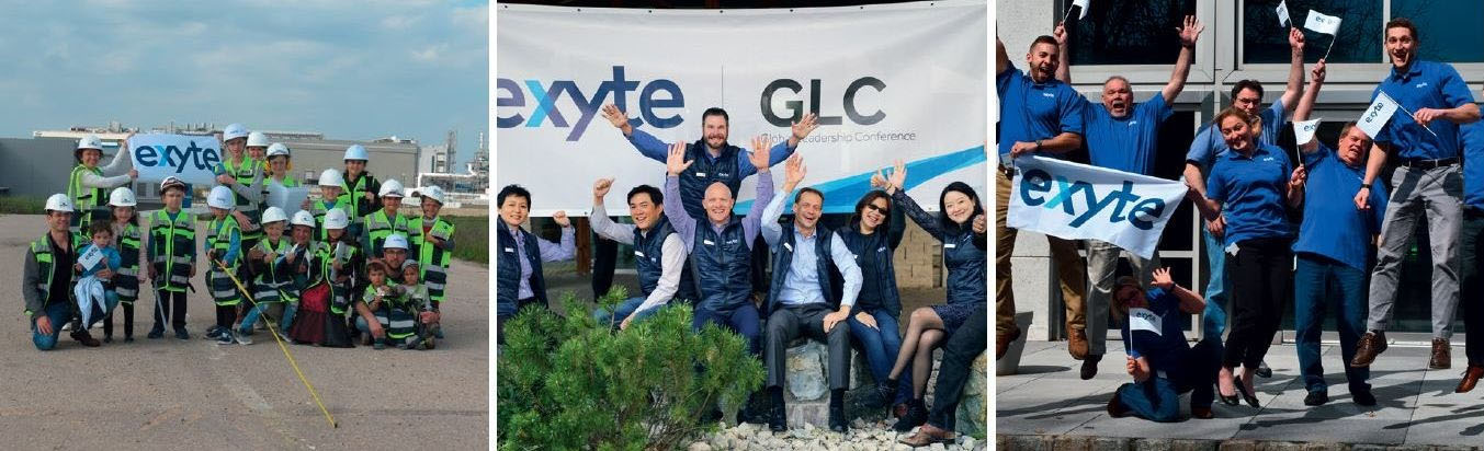 Exyte celebrates the diversity and inclusiveness of its people