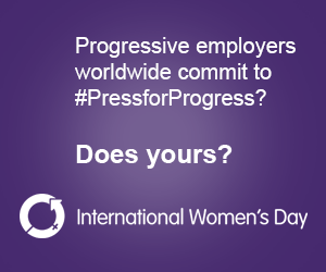 PressforProgress International Womens Day