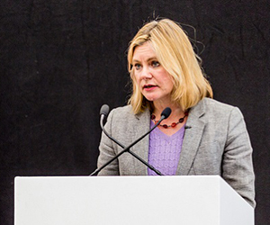 Justine Greening MP Nottingham Trent University visit