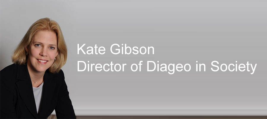 Kate Gibson lands new role as Director of Diageo in Society
