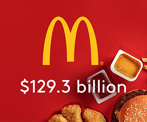 McDonalds in Top 10 of BrandZs Most Valuable Global Brands