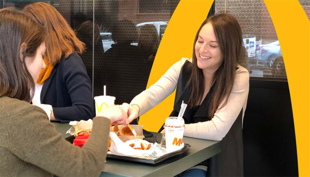 McDonalds celebrates the work of its women employees for IWD