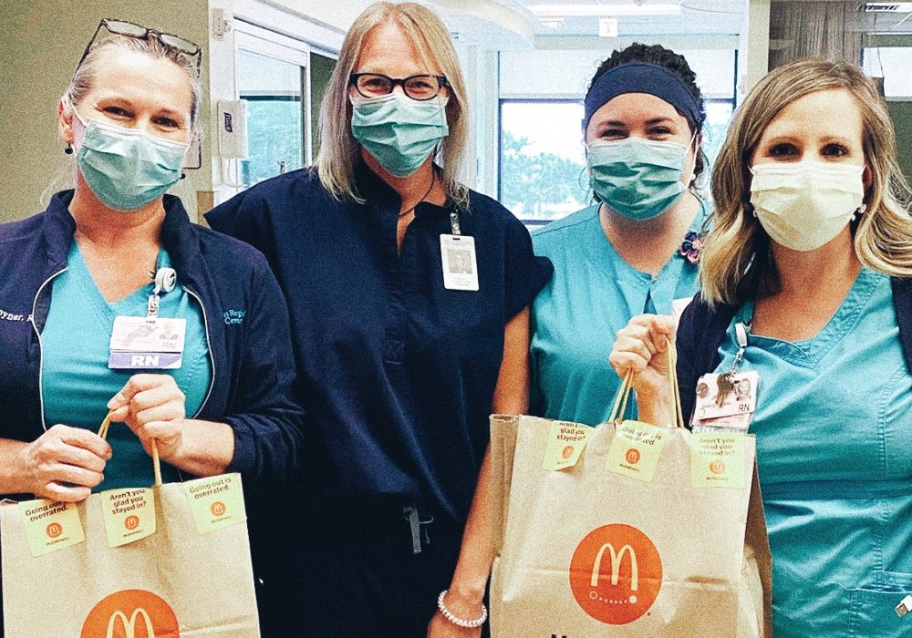 McDonalds unites to support communities during pandemic