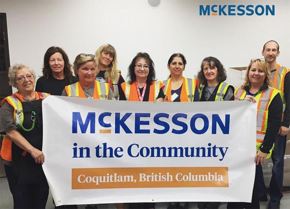 McKesson supports annual drive for SHARE Food Bank