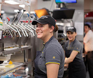 McDonald's shows its support for apprenticeships