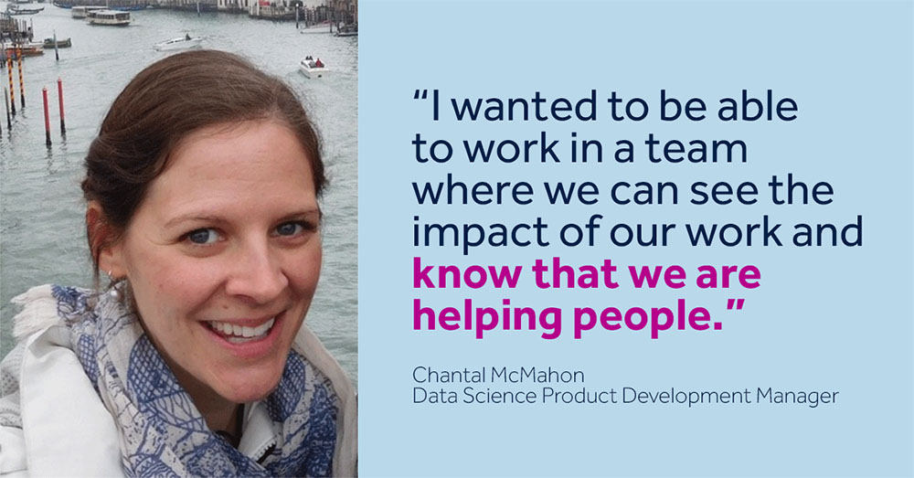 Medtronics Chantal McMahon sees the impact of her work