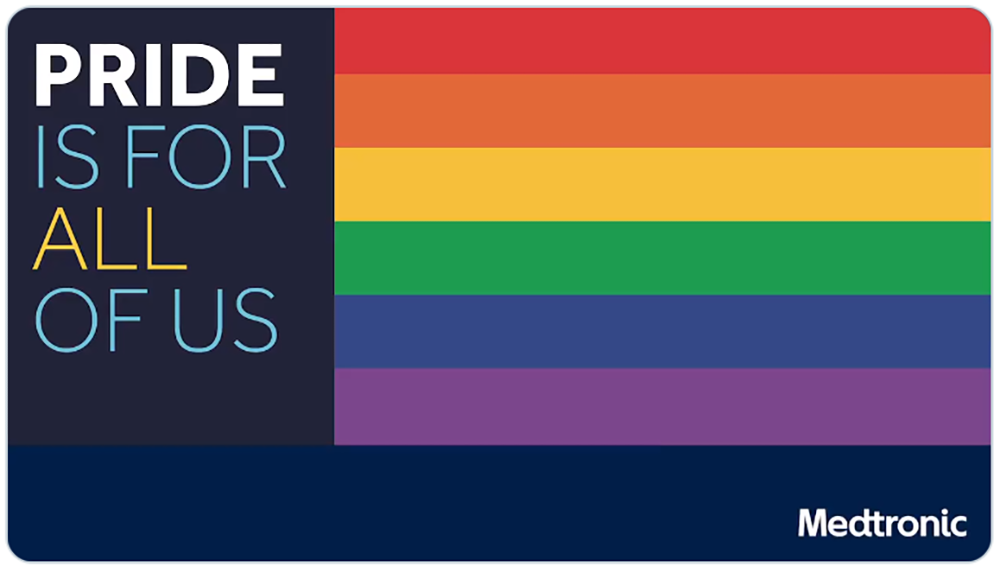 Medtronic reinforces its focus on PRIDE, regardless of no parade