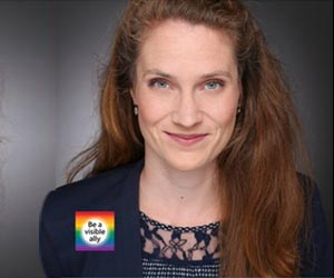 Louise joined Medtronic Pride as an ally to forge justice and equality